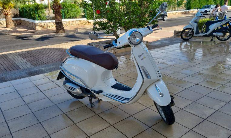 Foto Vespa 125cc Segunda Manor Mallorca 3