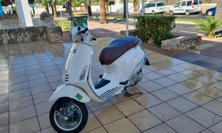 Foto Vespa 125cc Segunda Manor Mallorca 4